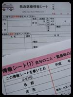 各種、情報シート